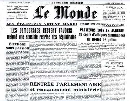 ... Chaouia Photothèque - Galerie photos :: journal-le-monde-2-11-54